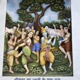 Krishna-Lila στοκ εικόνες με δικαίωμα ελεύθερης χρήσης