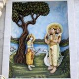 Krishna-lila Royalty Free Stock Photo