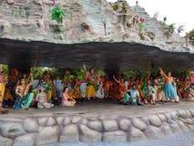 Krishna. Lord krishna lift mountain onblast fingure stock photography