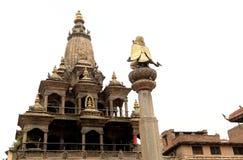 Krishna Mandir-Tempel auf Quadrat Patan Durbar stockfoto