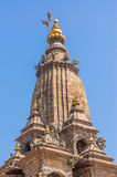 Krishna Mandir-Tempeldach verzieren lizenzfreies stockbild