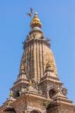 Krishna Mandir temple roof decorate Royalty Free Stock Image