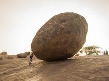 Krishna masła piłka Zdjęcie Stock