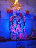 Krishna Radha Θεών στοκ φωτογραφία με δικαίωμα ελεύθερης χρήσης