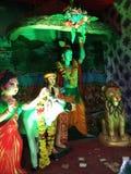 Krishna Radha Θεών στοκ φωτογραφίες με δικαίωμα ελεύθερης χρήσης