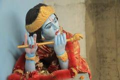 Krishna staty i Amritsar Royaltyfri Fotografi