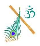 Krishna symbol Stock Images