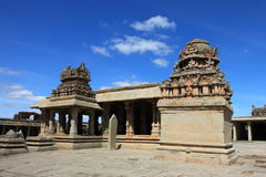 Krishna Tempel, Hampi lizenzfreie stockfotografie