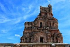 Krishna Tempel, Hampi stockfotos