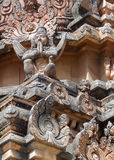 Krishna Temple at Hemakuta Hill Stock Image