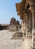 Krishna Temple at Hemakuta Hill Stock Photos