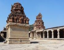 Krishna Temple at Hemakuta Hill Stock Photography