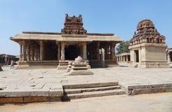 Krishna Temple at Hemakuta Hill Stock Photo