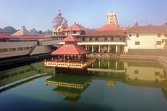 Krishna Temple, Udupi, Karnataka, Índia fotografia de stock royalty free