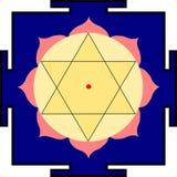 Krishna-Yantra van Shri Royalty-vrije Stock Afbeelding