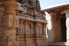 Krishnas Tempel in Hampi Stockfotografie