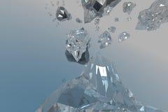 Kristal royalty-vrije stock afbeelding