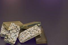 Kristal en rotsen Stock Foto
