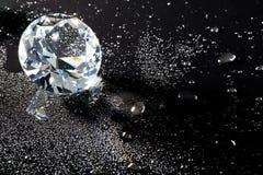 Kristal en waterdalingen Royalty-vrije Stock Foto's