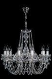 Kristal exclusieve lamp Stock Foto's