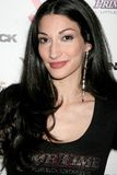 Kristal Mantecon bij de Partij van de Première van het Debuut van de Muziek J.Smith Video. Les Deux, Hollywood, CA. 02-25-09 royalty-vrije stock foto