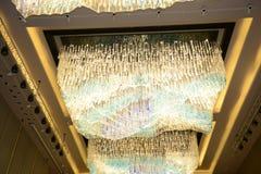 Kristal meer chandlier luxe Royalty-vrije Stock Foto