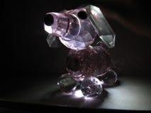 Kristal van een hond stock afbeelding