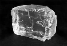 Kristal van Zout royalty-vrije stock fotografie