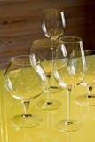 Kristalglas in Moser-Glassworks royalty-vrije stock foto's