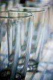 Kristalglazen Royalty-vrije Stock Afbeeldingen