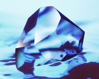 kristall arkivbild
