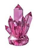 Kristall stock abbildung