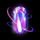 Kristall vektor abbildung