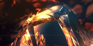 kristall Arkivfoto