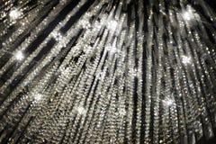 Kristall av mer chandalier för tak för garneringrum överst arkivbild