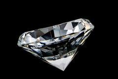 Kristall des Diamanten stockbild