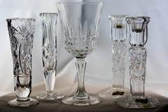 Kristall des geschliffenen Glases Lizenzfreie Stockfotografie