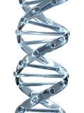 Kristall DNA lizenzfreies stockbild
