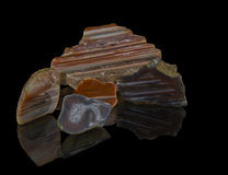 Kristall, Edelstein Kristall, Edelstein, Mineral, Quarz, kostbar, Schmuck, Geologie, Natur, schön, natürlich, Achat, glänzend, Re Stockbild