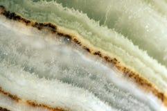 Kristall en abstrakt härlig bakgrund av strukturen av crys Fotografering för Bildbyråer