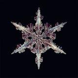 Kristall för naturlig is stock illustrationer