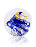 Kristall farbiger Ball Stockbild