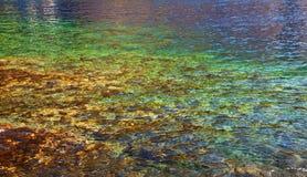 Kristall - freies Wasser Stockfoto