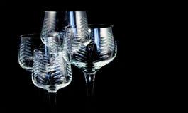 kristall fyra exponeringsglas Royaltyfria Bilder