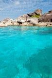 Similian Inseln, klares Wasser Lizenzfreies Stockbild