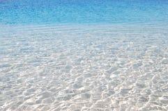 Kristall - klart havsvatten Fotografering för Bildbyråer