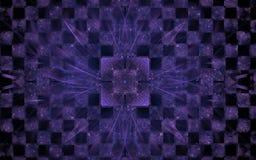 Kristall på schackbrädet Royaltyfria Foton