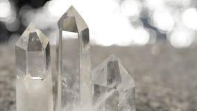 Kristall på strandkanten