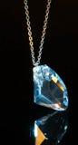 Kristall pendent Lizenzfreies Stockfoto