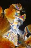 Kristallanordnung stockbilder